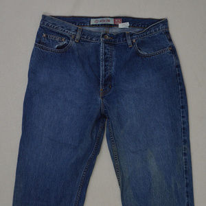 GAP BLUE JEANS women's loose fit button fly jeans